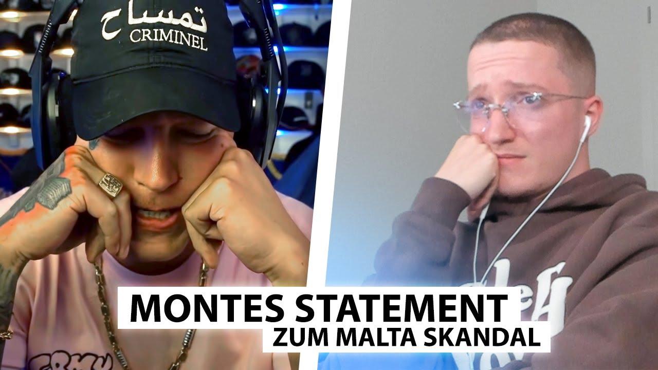 Justin reagiert auf MontanaBlack's Twitch Skandal Statement..   Reaktion