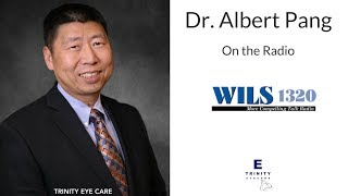 6/2/15 → Dr. Albert Pang from Trinity Eye Care live on News Radio
