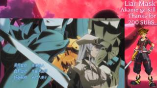 Video [Male Version] Liar Mask - Akame ga Kill download MP3, 3GP, MP4, WEBM, AVI, FLV Agustus 2018