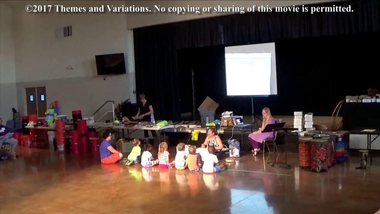 Preschool Music Lesson 1 Denise Gagne Youtube