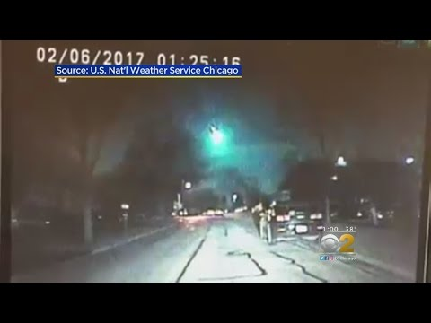 Meteor Streaks Across Night Sky Above Chicago, Lands In Lake Michigan