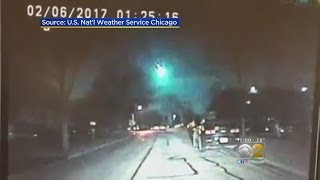 Meteor Streaks Across Night Sky Above Chicago, Lands In Lake Michigan
