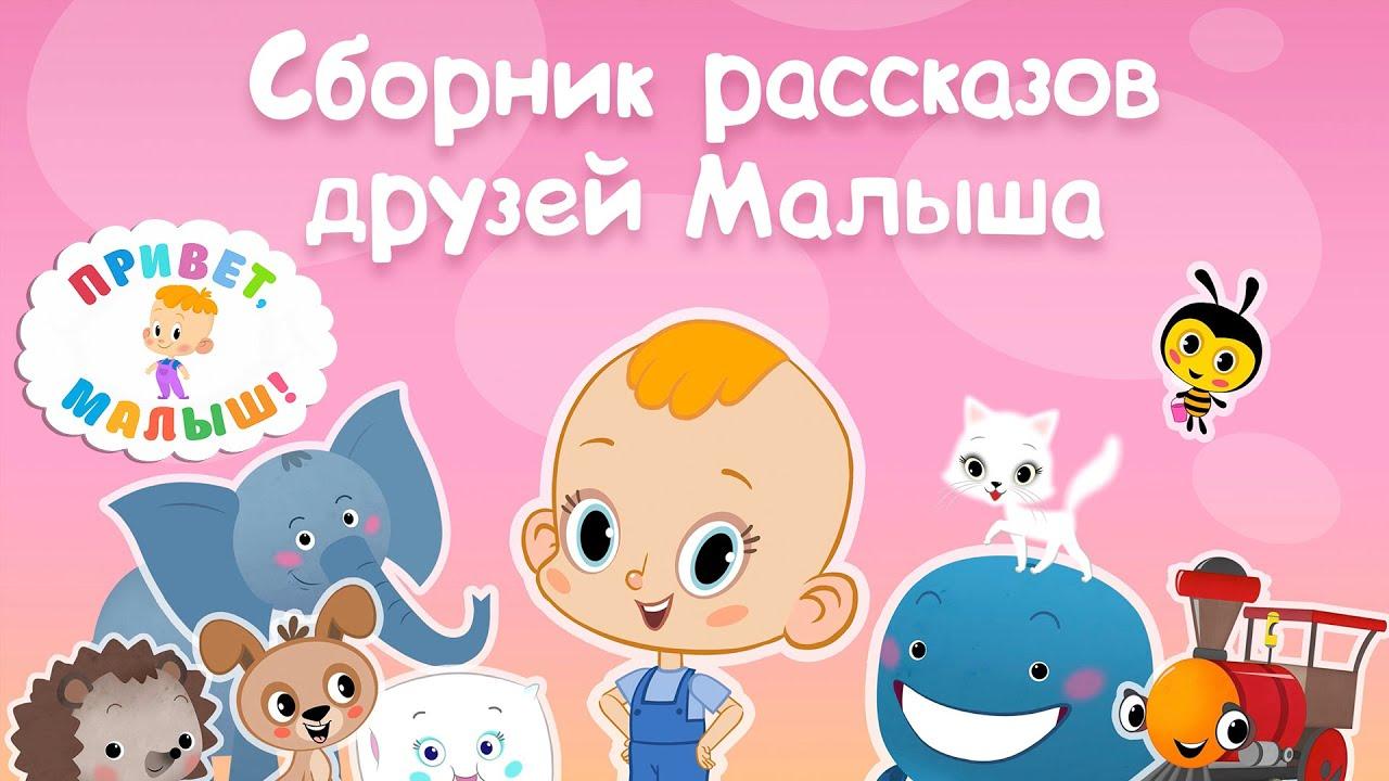 Про Ежика - Привет, малыш! Рассказы друзей Малыша - Мультикнига для детей