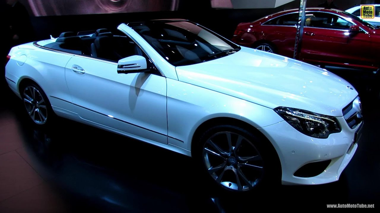 Watch on mercedes e350 convertible interior