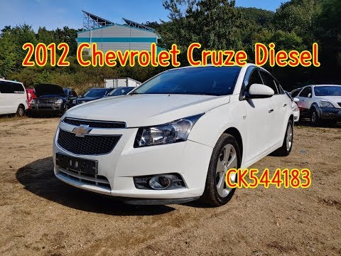 (20191009) 2012 Chevrolet Cruze Diesel Used Car Inspection For Export (CK544183) Carwara.com