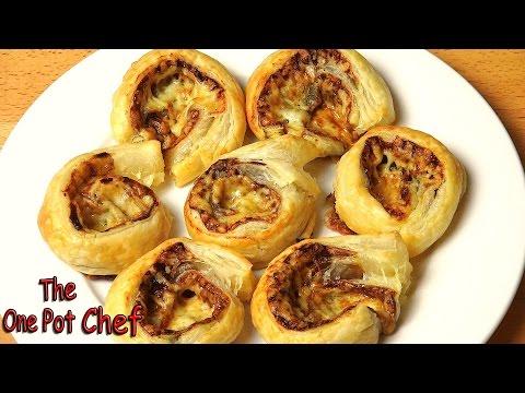 Cheesy Vegemite Scrolls | One Pot Chef