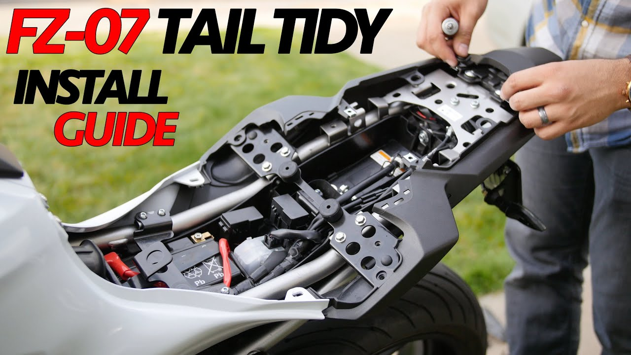 maxresdefault fz 07 fender eliminator easy install guide tail tidy detailed Fz07 2016 Black at honlapkeszites.co