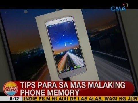 UB: Tips para sa mas malaking phone memory