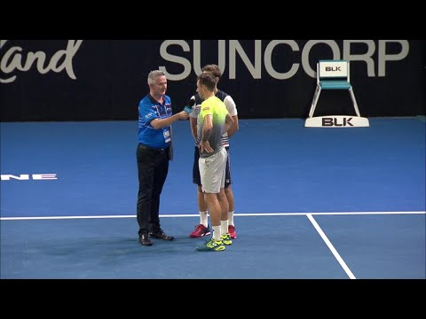 Matthew Ebden & John Millman On-Court Interview (R1) | Brisbane International 2018