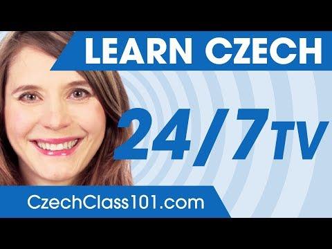 Learn Czech in 24 Hours with CzechClass101 TV