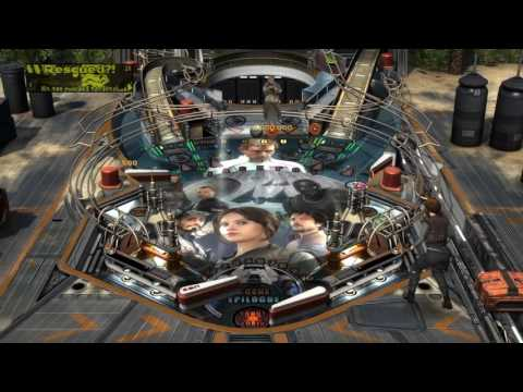 Initial Gameplay Rogue One Table (Zen Pinball 2 & Pinball FX 2)