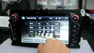 Магнитофон для Ford Mondeo, Focus с GPS, DVD, MP3, TV, USB, Bluetooth.