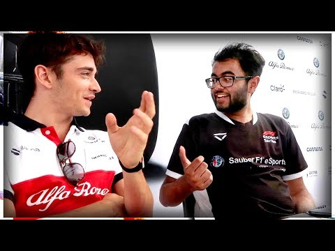 Chatting With 2019 Ferrari F1 Driver CHARLES LECLERC at Monza!