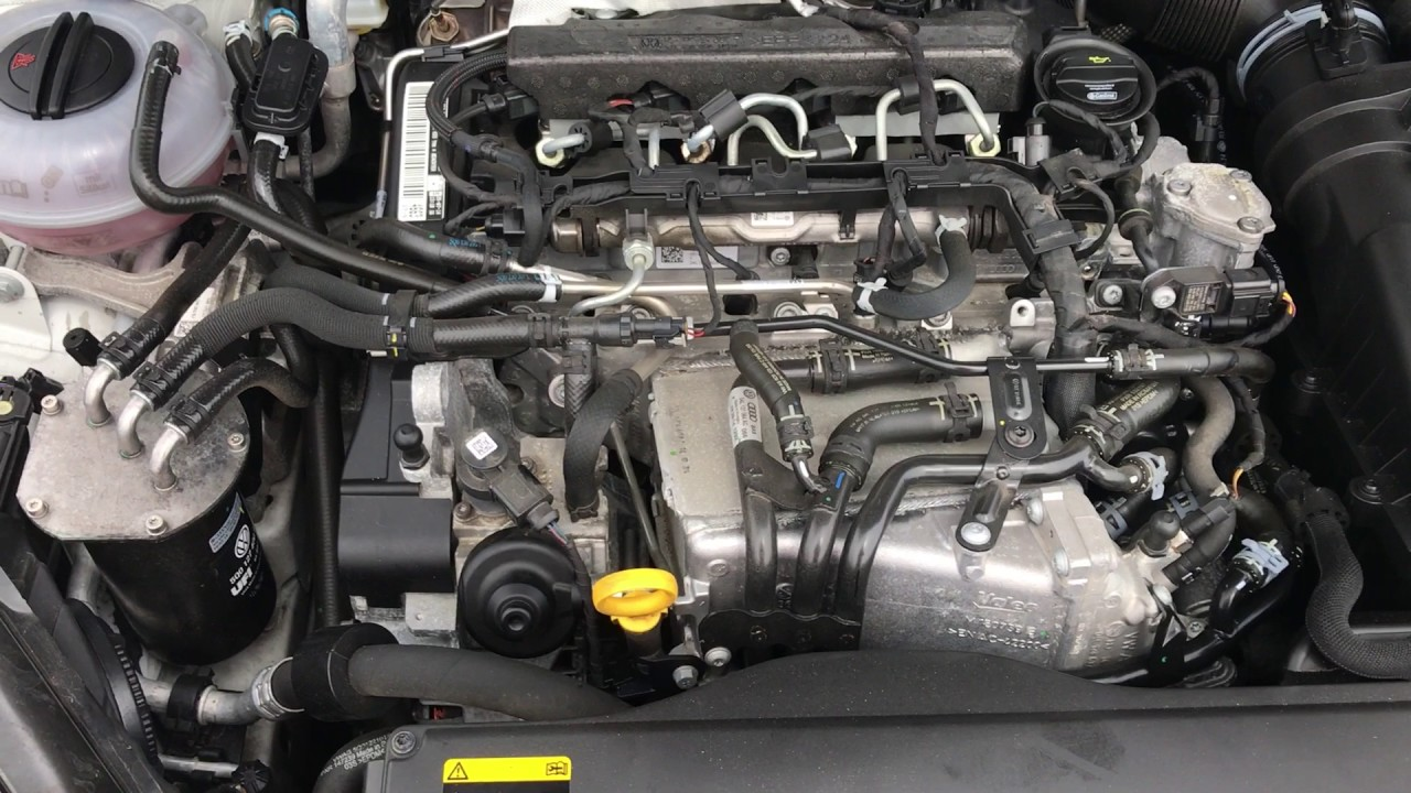2014 Vw Golf Gtd Engine