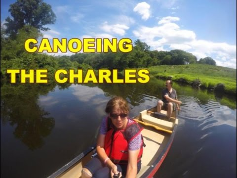 Charles River ~ Millis to Medfield ~ South End Pond ~ GoPro