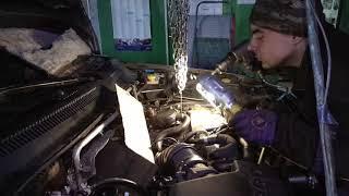 Снятие дизельных форсунок Jeep Grand Cherokee, мотор  Mercedes 2.7