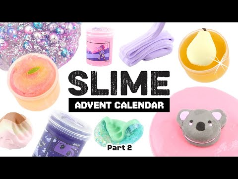 SLIME SHOP REVIEWS!! Instagram Slimes, Satisfying ASMR and MORE! (Part 2/2)