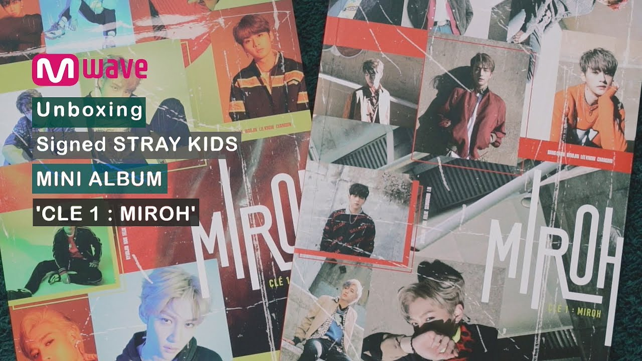 [Mwave Shop] Unboxing Signed Stray Kids 'Clé 1 : MIROH' Album