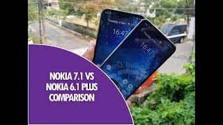 Nokia 7.1 vs Nokia 6.1 Plus Detailed Comparison