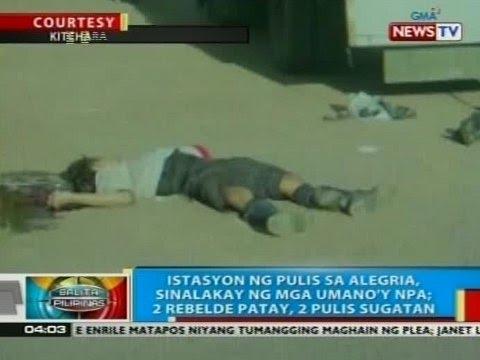 Bp Istasyon Ng Pulis Sa Alegria Surigao Del Norte