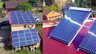Энергосбережение 12кВт зеленый тариф и 300л горячей воды Борисполь(Монтаж сетевой СЭС и гелиотермальной станции мощностью 12 кВт (под зеленый тариф) и 300 литров соответственно..., 2016-09-06T12:08:14.000Z)