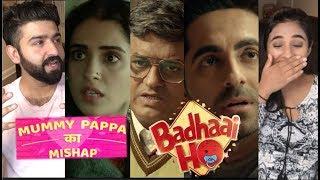 'Badhaai Ho' Trailer Reaction | Ayushmann Khurrana, Gajraj Rao and Neena Gupta |