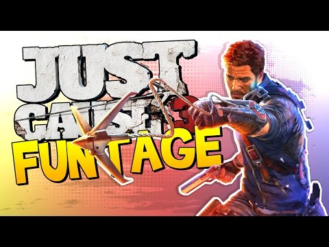 Just Cause 3 FUNTAGE! (Glitches & Funny Moments)