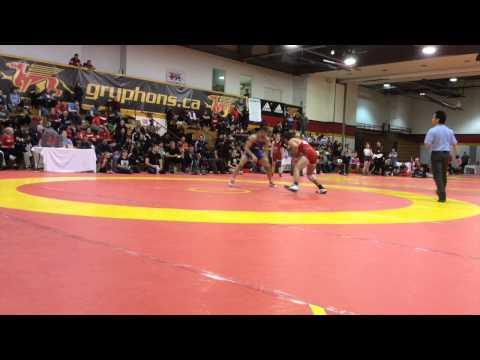 2015 Guelph Open: 57 kg Final Nico Megaludis vs. James Mancini