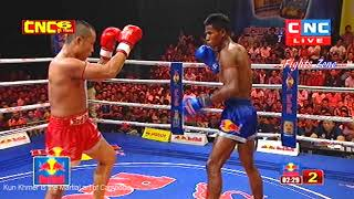 Kun Khmer, Loun Sokheng Vs Long Vai on 21 July 2018 | Fights Zone