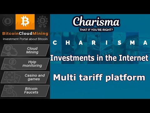 [SCAM] Charisma Finance - Investments in the Internet - Multi tariff platform