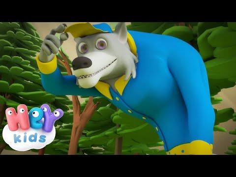 Der Wolf 🐺Kinderlieder zum Mitsingen | KinderliederTV