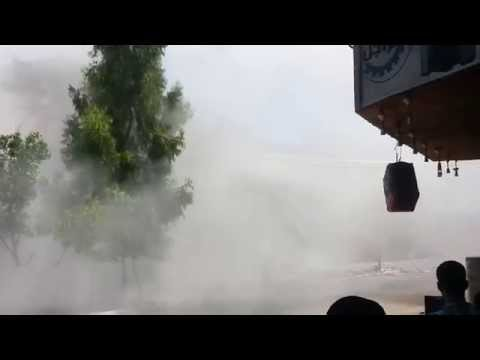 The Bombardment Of Abu Touha's house By Israeli Occupation Forces 18/7/2014