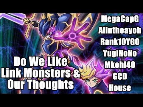Do We Like Link Monsters!? MegaCapG & Rank10YGO & YugiNoNo & AlintheaYoh & MKohl40 & GCD