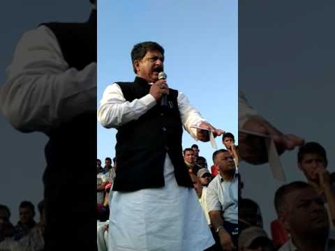 Gujarat Sport Minister Rajendra Trivedi at Mesrad Sports Club