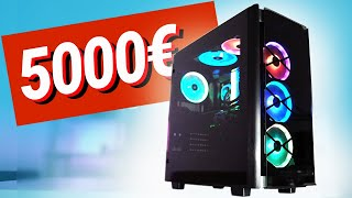 5000€ MONSTER Gaming PC!! Krench Royales PC - TEST & Zusammenbauen