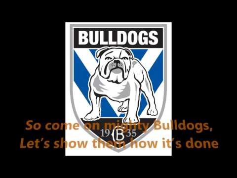 Canterbury Bulldogs theme song (Lyrics) NRL Sing-A-Long