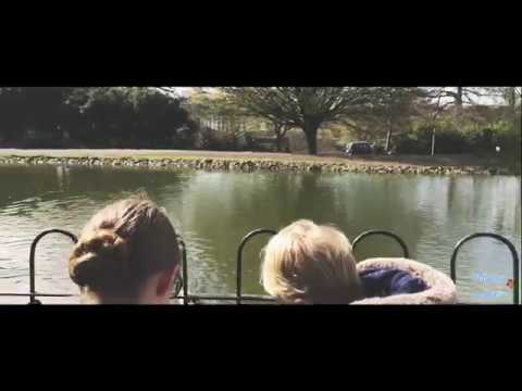 Feeding the Ducks @ Guinea Lane Nursery