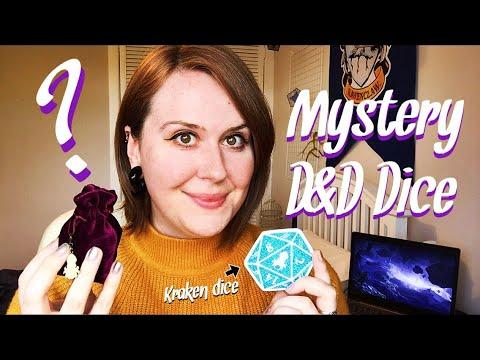 OPENING D&D KRAKEN DICE | MYSTERY DICE PROMOTION | UNICORN WIZARD