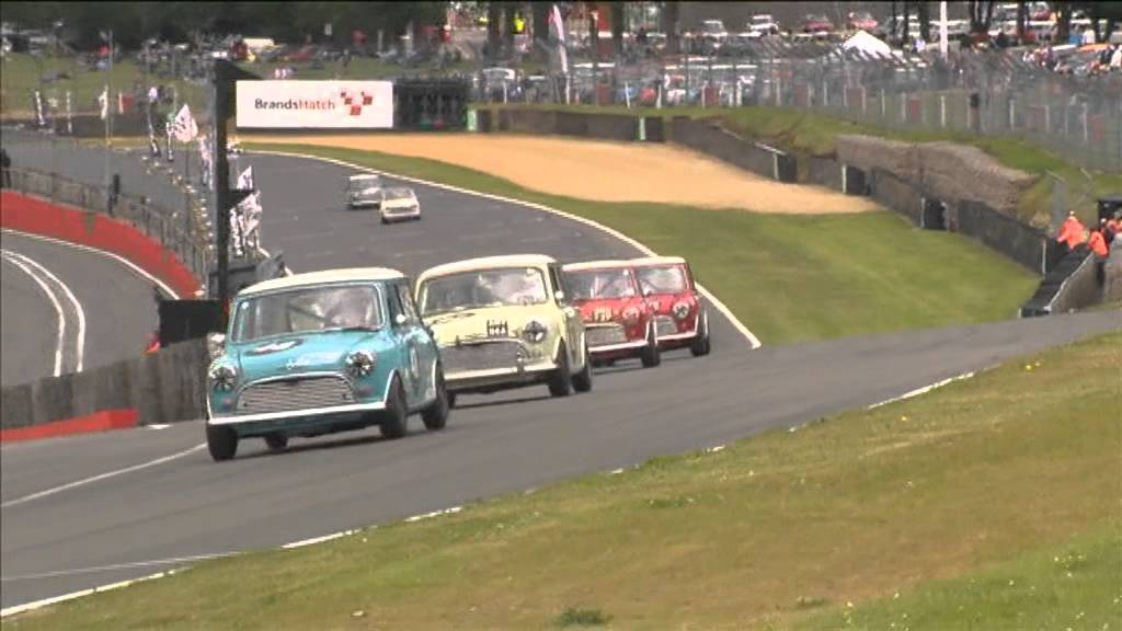 Pre 66 Mini Race From Brands Hatch June 2013 Part 2 Youtube