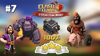 Clash of Clans | TH9 | 3 Star Attacks with GoWiHo #7
