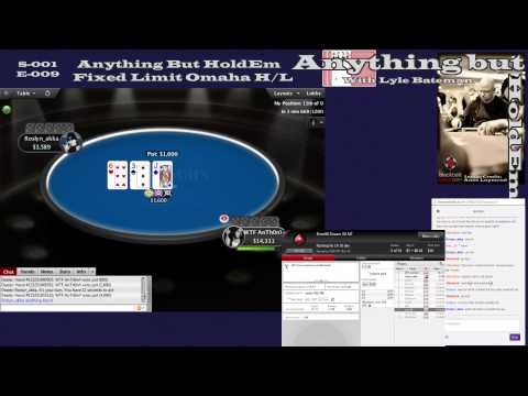 Anything but HoldEm S01-E010: #AnythingbutHoldEm Weekly Challenge - FL Omaha H/L - 2 / 2