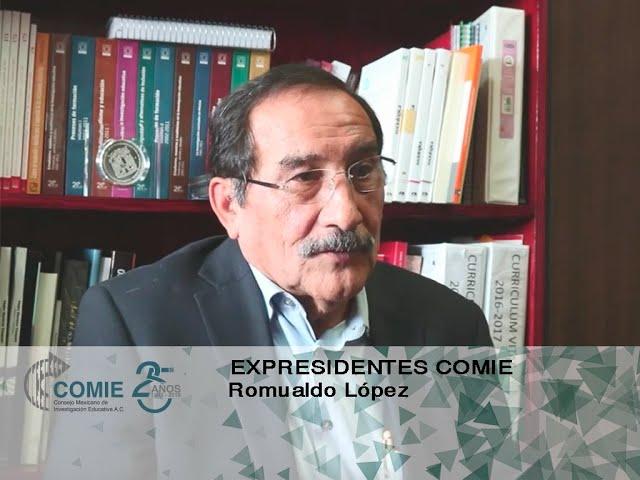 Expresidentes COMIE: Romualdo López