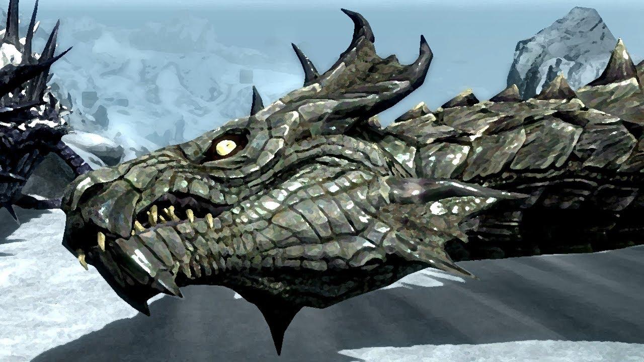 Skyrim Dragon: Dragons Of Skyrim & Tamriel