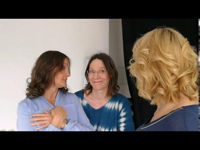 Wie ist Sylke Gall wirklich ? Natalie erklärt es. Photoprofilworkshop für Businessfotos Sylke Gall