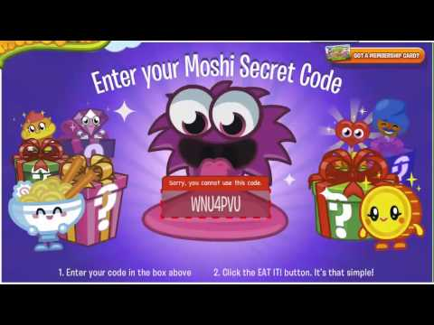 Moshi Monsters Codes - (Theme Park Food)