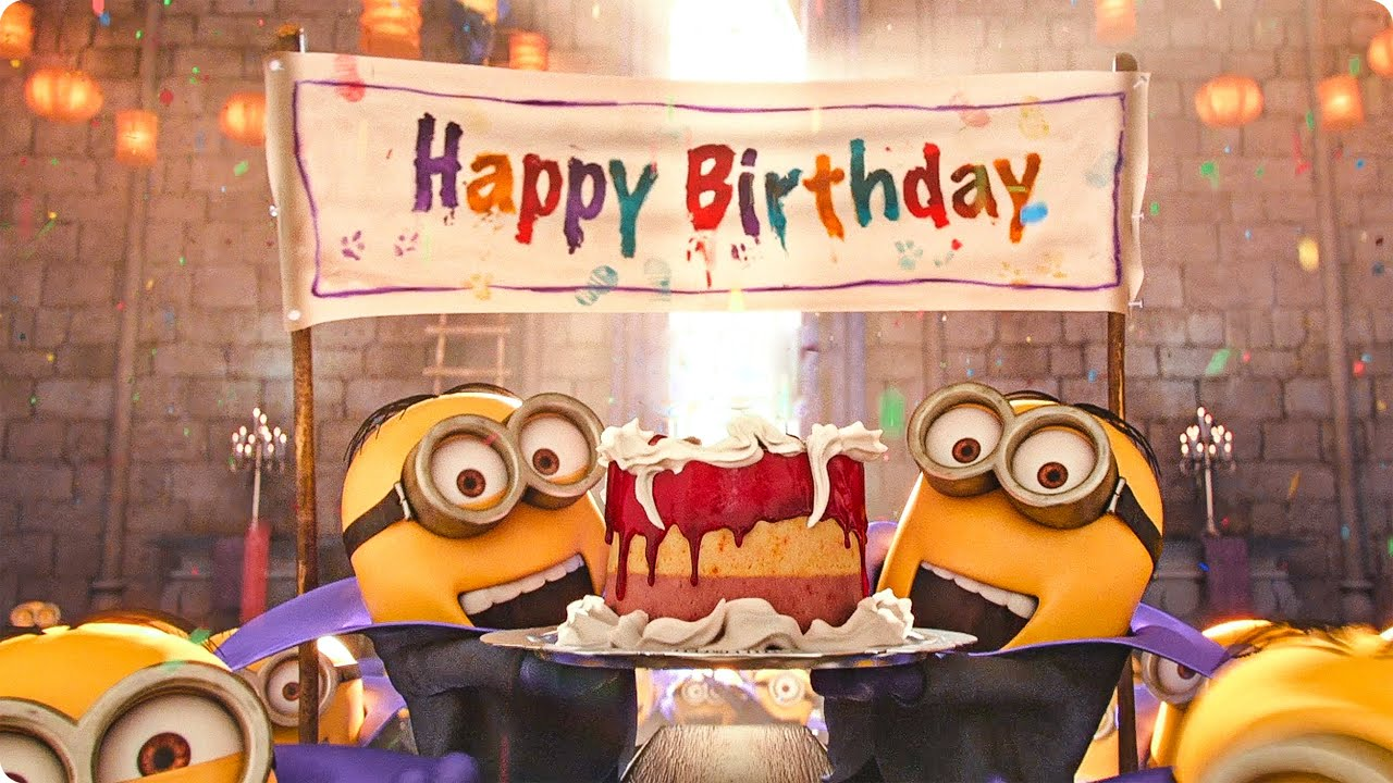Funny Birthday Memes Minions : Happy birthday minions youtube