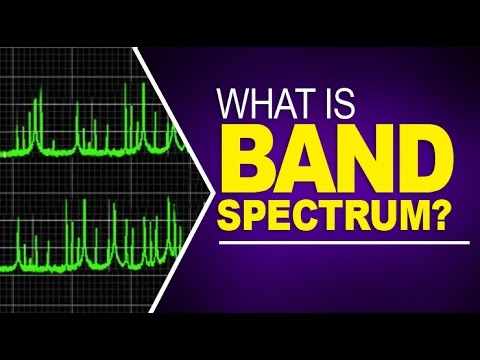 What is Band Spectrum ?