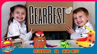 Recebidos da GearBest [Manu e Pepe]