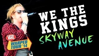 "We The Kings - ""Skyway Avenue"" LIVE! Vans Warped Tour 2014 (Sacramento, CA)"