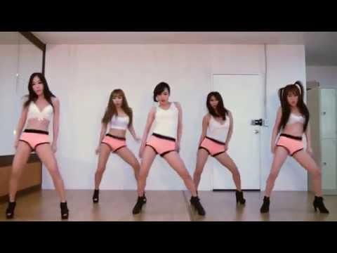 Las chicas de Waveya Twerking bailando el